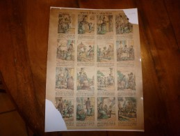 Vers 1900  Imagerie D'Epinal  N° 499   CAPRICE & BON CARACTERE      Imagerie Pellerin - Verzamelingen
