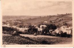 073 CPA CAPVERN - Vue Générale Village Champs Moisson 1945 TP 1fr Lilas Mariane Dulac - Edit: Labouche N° 372 - Recto-V - France