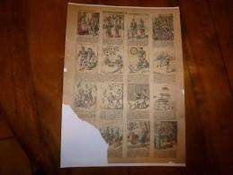 Vers 1900  Imagerie D'Epinal  N° 636   MOUCHILLONNETTE (Conte Sans Rimes Ni Raison)      Imagerie Pellerin - Verzamelingen