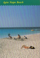 32630- AYIA NAPA- THE BEACH, BOAT - Cyprus