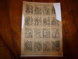 Vers 1900  Imagerie D'Epinal  N° 582   ALADIN OU LA LAMPE MERVEILLEUSE.      Imagerie Pellerin - Vieux Papiers