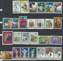 Liechtenstein   1986  Sc#829-60  Year Sets Complete   MNH**  2016 Scott Value $25.80 - Liechtenstein