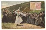 Lezginka Dance. Kaukasus Type. Dolche. - Russia
