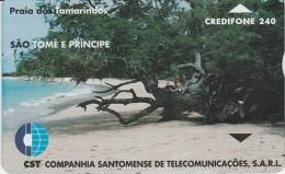 Sao Tome And Principe - Tamarinds Beach - STM-07