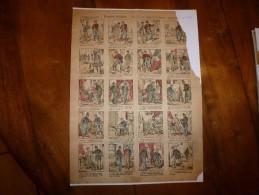 Vers 1900  Imagerie D'Epinal  N°1148   Proverbe Enfantin --AU NID ON CONNAIT L'OISEAU--     Imagerie Pellerin - Vieux Papiers