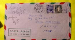 IRLANDA 1956 AEROGRAMMA BEN AFFRANCATO  VIAGGIATO - Storia Postale