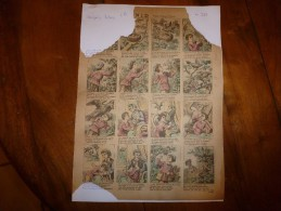 Vers 1900  Imagerie D'Epinal  N° 917      LE NID   Poésie D'Augusta Coupey            Imagerie Pellerin - Verzamelingen