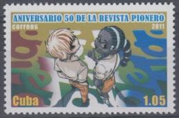 2011.15 CUBA MNH 2011. 50 ANIV DE LA REVISTA PIONERO. - Cuba