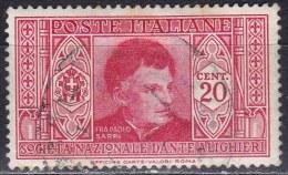 Regno D´Italia, 1932 - 20c Frà P. Sarpi - Nr.305 Usato° - Usati