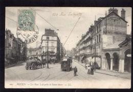 Rouen - Les Rues Lafayette Et Saint-Sever - Rouen