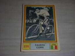CYCLISME CARTE PANINI 220 SPRINT 71 FAUSTO COPPI   ITALIE CARPANO - Ciclismo