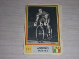 CYCLISME CARTE PANINI 245 SPRINT 71 ANTONIO MASPES ITALIE - Ciclismo