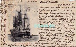Bateau – Voilier - A Training Ship. - (voir Scan). - Voiliers