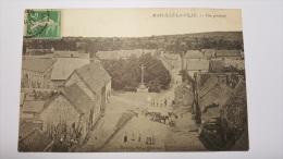 MARCILLE LA VILLE 53 Vue Generale Prise Du Clocher Mayenne CPA Animee Postcard - France