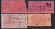 TICKET - FOOTBALL - VOETBAL /  F.C. HELZOLD - F.C. HOUTHALEN - LOMMEL  Stamnrs. 1488  - 1986 - 2402 - Tickets D'entrée