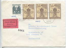 Express Cover, Salzburg, 1972 - 1945-.... 2ème République