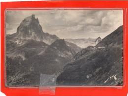 - LARUNS - ARTOUSTE - Le Pic d'Ossau vu du Pic de la Sagette