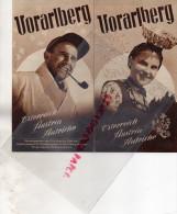 AUTRICHE- VORARLABERG - OSTERREICH- NENZINGER HIMMEL -RATIKON-HOCHTANNBERG-AM BODENSEE-ARLBERG - Dépliants Touristiques