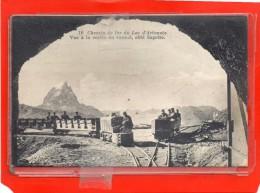 - LARUNS - ARTOUSTE - Chemin de Fer du Lac - Vue � la Sortie du Tunnel,c�t� Sagette