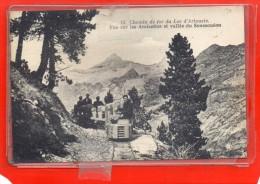 - LARUNS - ARTOUSTE - Chemin de Fer du Lac - Vue sur les Arcizettes et Vall�e du Soussou�ou