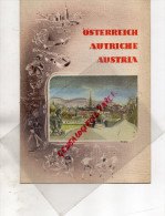 AUTRICHE-  OSTERREICH-  LECH AM ARLBERG-BURG FORCHTENSTEIN-GRAZ- HEILIGENBLUT-INNSBRUCK-SALZBURG -WIEN - Dépliants Touristiques