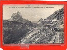 - LARUNS - ARTOUSTE - Chemin de Fer du Lac - Vue vers le Pic du Midi d'Ossau