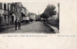 GAP - Rue Carnot Et Place Du Lion - Gap