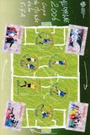 FRANCE BLOC FEUILLET    COUPE FOOTBALL JUIN 2006 - Sheetlets