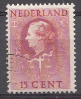 Pays-Bas 1951  Mi.nr: 36 Königin Juliana   Oblitérés-Used-Gestempeld - Service