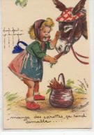 10 Cartes De L Illustrateur Germaine Bouret  Lot Varie Et Scanne  (mange Des Carottes Ca Rend Aimable Carte à Système) - Bouret, Germaine