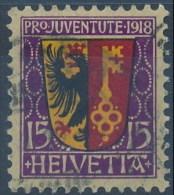 Suiza U  169 (o) Foto Estandar. 1918 - Usati