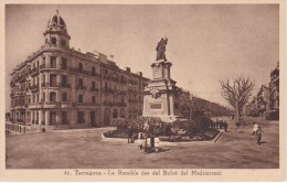 41 POSTAL DE TARRAGONA DE LA RAMBLA DES DEL BALCO DEL MEDITERRANI (MUMBRU) - Tarragona