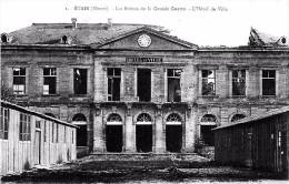 CPA - Guerre 1914-1918 - ETAIN - Les Ruines De La Grande Guerre - L'Hotel De Ville - Etain