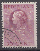 Pays-Bas 1951  Mi.nr: 39 Königin Juliana   Oblitérés-Used-Gestempeld - Service