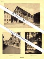 Photographien / Ansichten , 1927 , Winterthur , Obergasse , Museumsstrasse , Prospekt , Architektur , Fotos !!! - ZH Zürich