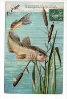1er Avril / Illustrateur - Noms Sur La CP = Diné De Sézanne - 1908 - 1 April (aprilvis)