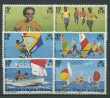 Britische Jungferninseln 1984 Olympiade Los Angeles 473/78 Postfrisch - British Virgin Islands