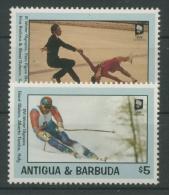 Antigua 1993 Olympiade Lillehammer 1847/48 Postfrisch - Antigua Und Barbuda (1981-...)