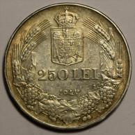 """Roumanie Romania Rumänien 250 Lei 1941 """""""" TPT """""""" Argent Silver  # 4 - Romania"""