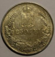 """Roumanie Romania Rumänien 250 Lei 1941 """""""" TPT """""""" Argent Silver  # 5 - Romania"""