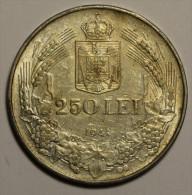 """Roumanie Romania Rumänien 250 Lei 1941 """""""" TPT """""""" Argent Silver  # 7 - Romania"""