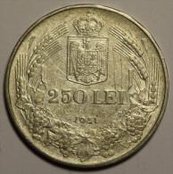 """Roumanie Romania Rumänien 250 Lei 1941 """""""" TPT """""""" Argent Silver  # 9 - Romania"""