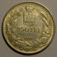 Roumanie Romania Rumänien 250 Lei 1939 Argent Silver  # 3 - Roumanie