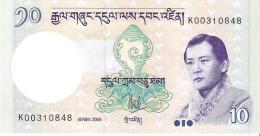 Bhutan - Pick 29a - 10 Ngultrum 2006 - Unc - Bhoutan