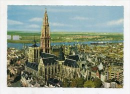 BELGIUM - AK 250207 Antwerpen - Hoofdkerk En Schelde - Antwerpen