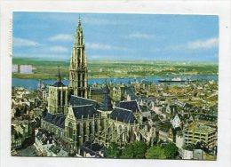 BELGIUM - AK 250208 Antwerpen - Hoofdkerk En Schelde - Antwerpen