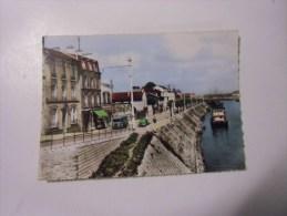 Dep 93 Ile Saint Denis Quai De La Marine  ( Animée Voiture )) - L'Ile Saint Denis