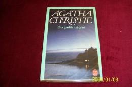 LIVRE DE POCHE  ° AGATHA CHRISTIE  DIX PETITS NEGRES - Autres
