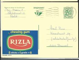 Publibel Obl. N° 2442 ( Chewing Gum: RIZLA) Obl: Aalst - Publibels