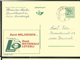 Publibel Obl. N° 2444 ( Nationale Loterij) Obl: 05/06/1974 - Stamped Stationery